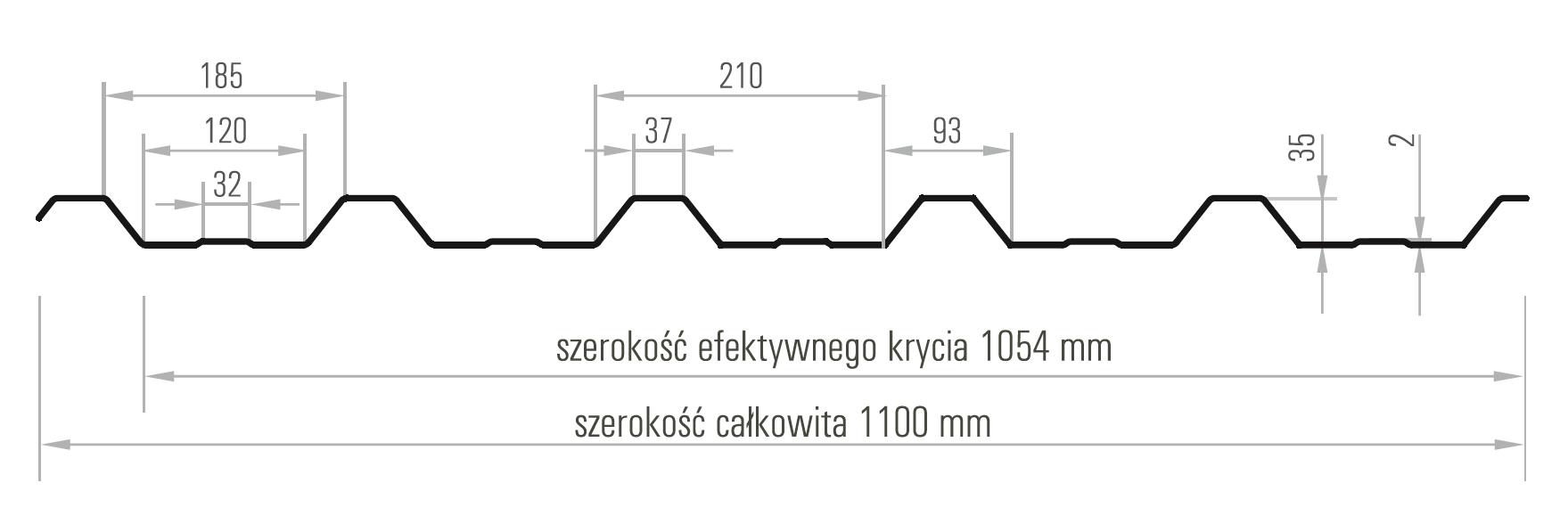 Abito Bratex Blacha Trapezowa T35 Pokrycia Dachowe Krakow